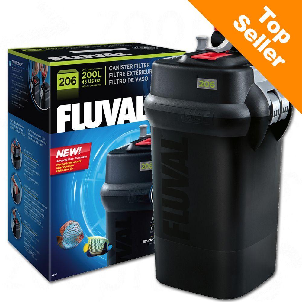 Fluval ytterfilter 06-serien - 406, upp till 400 liter