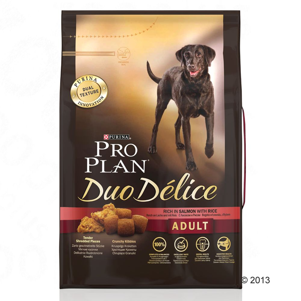 PRO PLAN Duo Délice Adult saumon - 2 x 10 kg