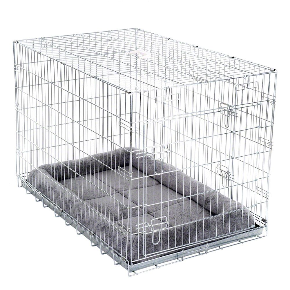 Medium Double Door Transport Cage with Cushion