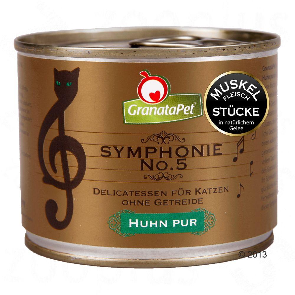 GranataPet Symphonie 6 x 200 g - Vilt & kyckling