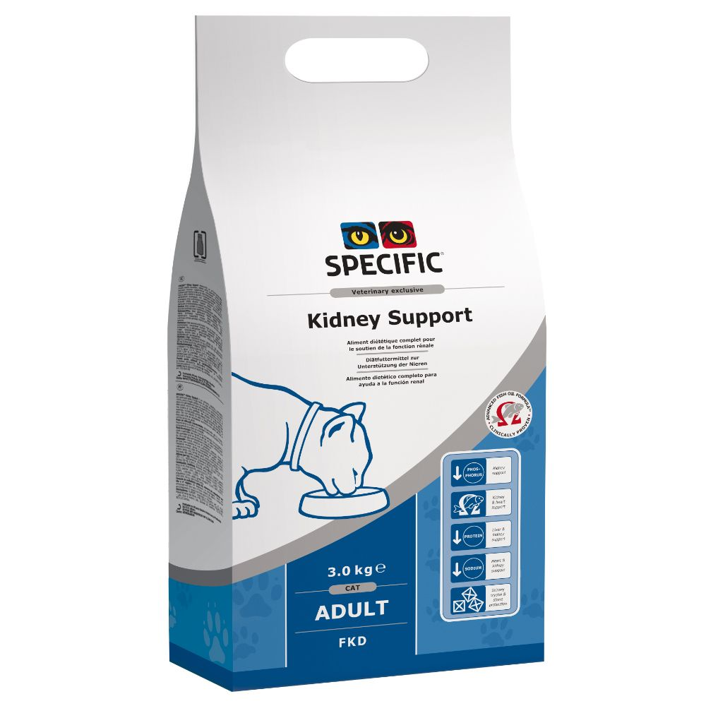 Specific Cat FKD Kidney & Heart Support