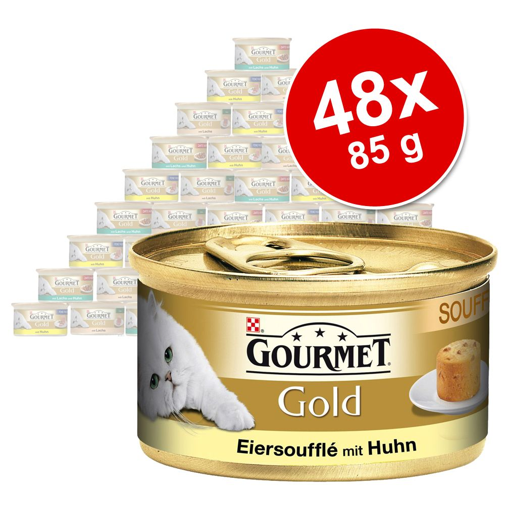 Mixpaket Gourmet Gold 48 x 85 g - Terrine Mix