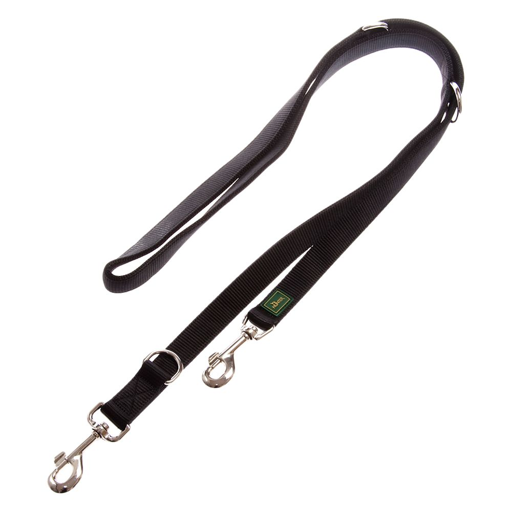 Hunter Nylon Dog Lead Black