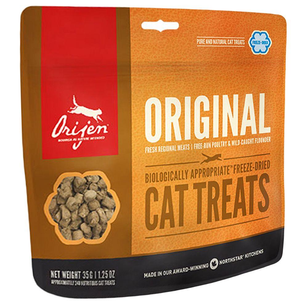 Orijen Cat Snack Original -Sparpaket: 3 x 35 g