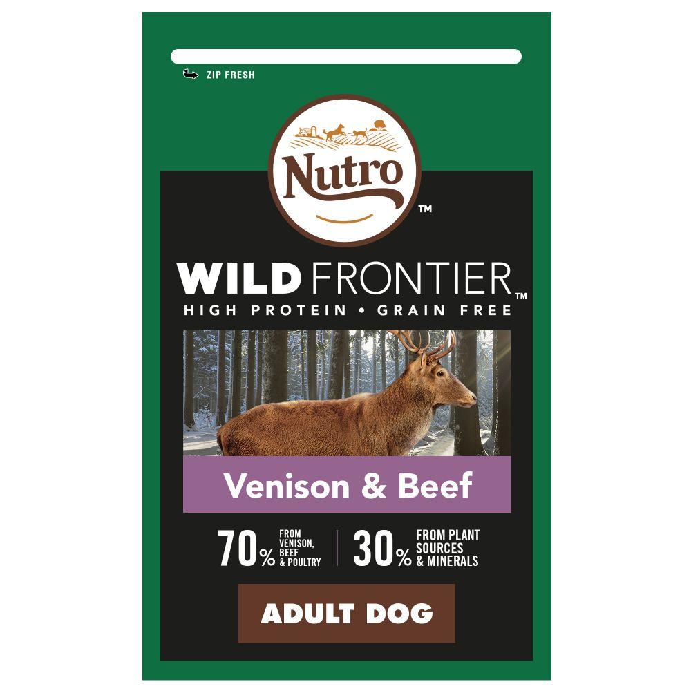 1.5kg Venison & Beef Adult Nutro Wild Frontier Dry Dog Food
