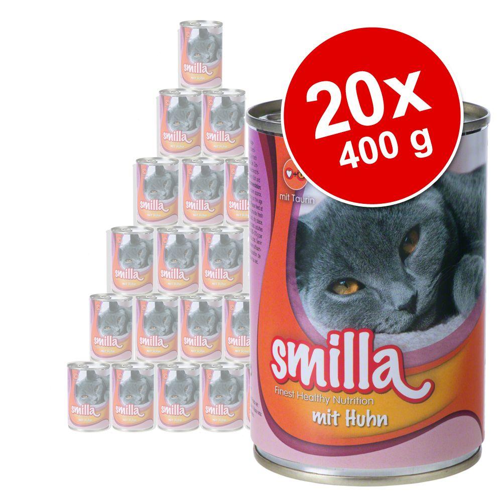 Smilla Mrrrau, 20 x 400 g - Łosoś