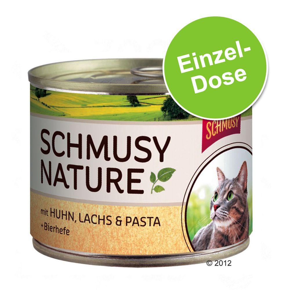 Schmusy Nature Dose 1 x 190 g - Pute, Kaninchen, Reis & Mineralerde