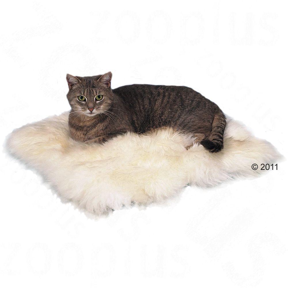 Trixie kudde av fårskinn - L 45 x B 45 cm