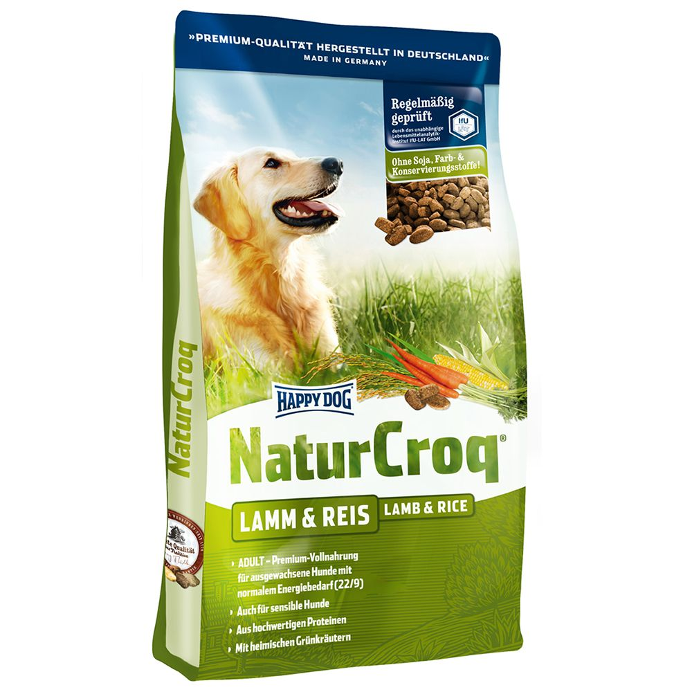 Happy Dog Natur Croq Snack Lamb & Rice - 350g