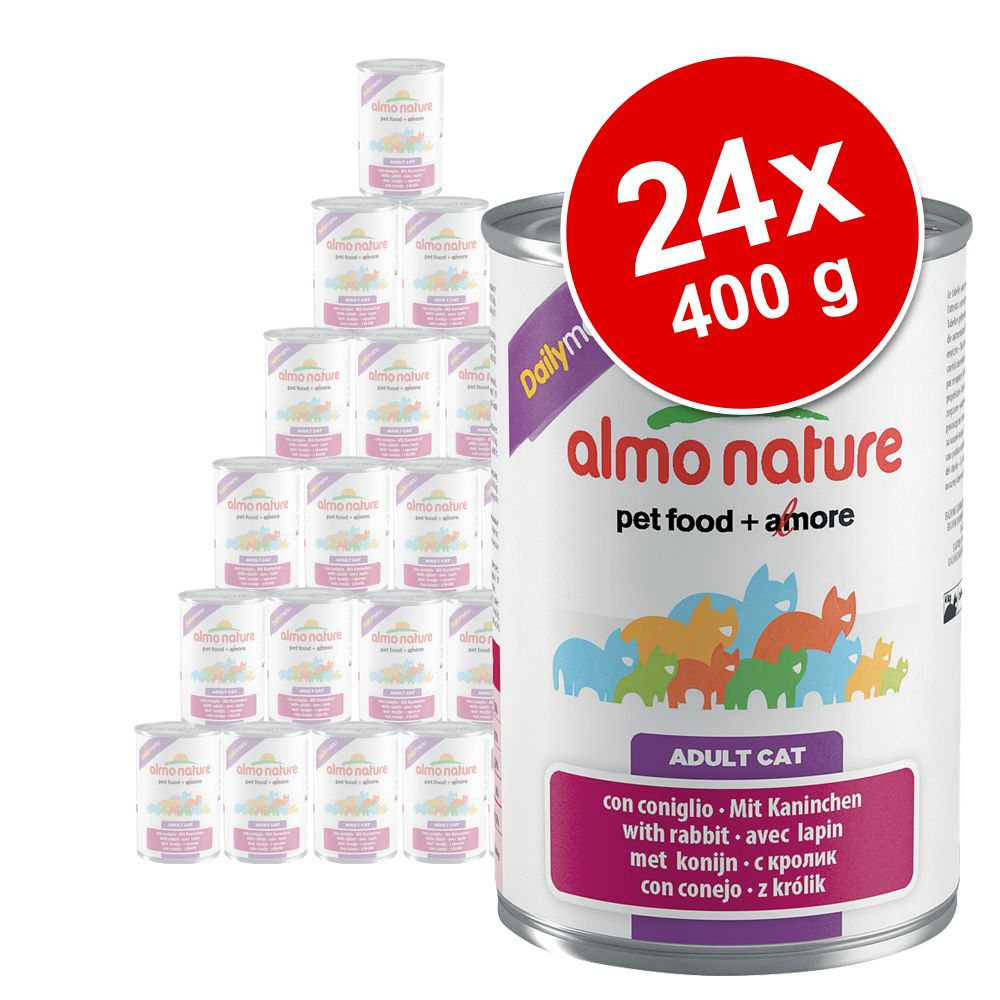 Sparpaket Almo Nature Daily Menu 24 x 400 g - Rind