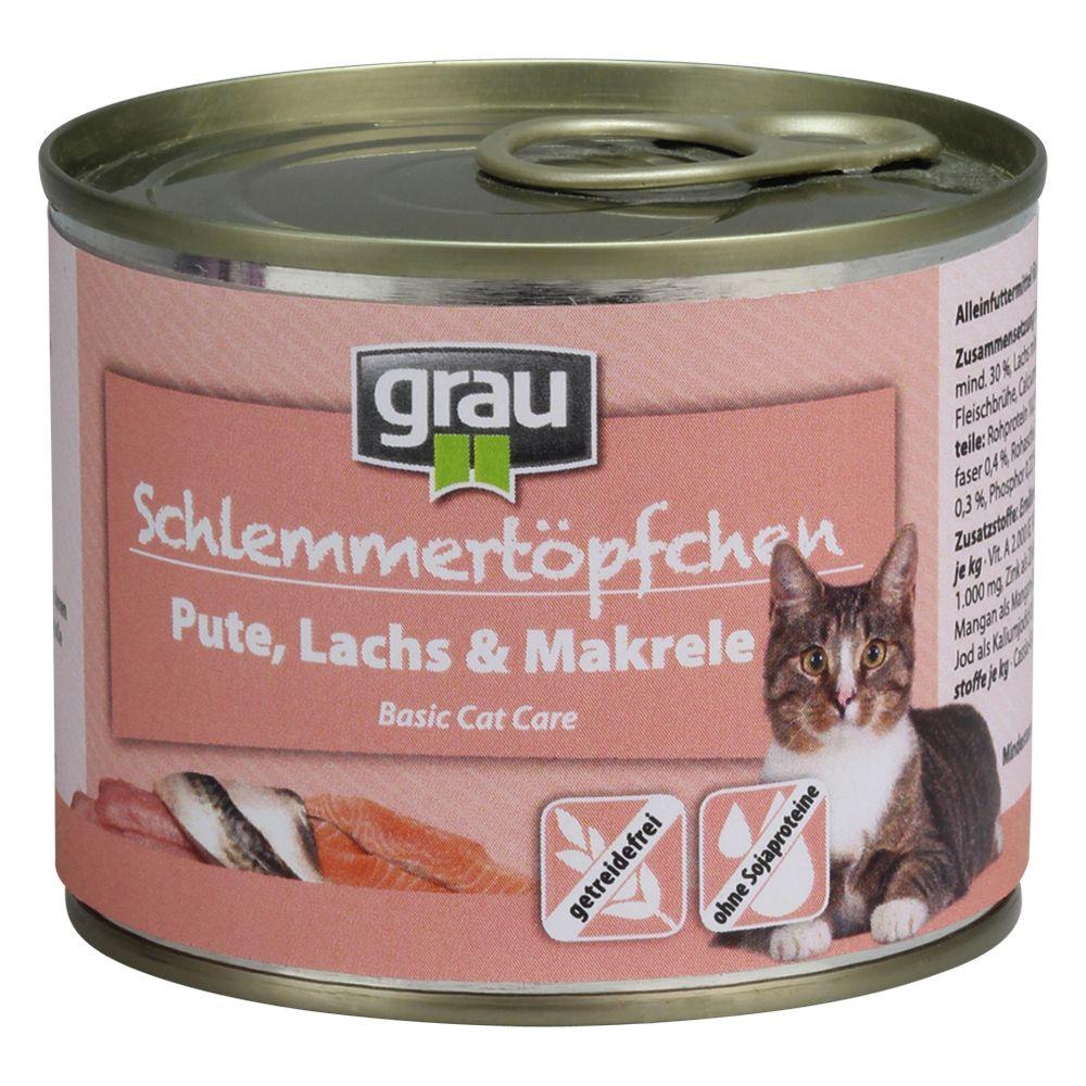 Grau Schlemmertöpfchen getreidefrei 6 x 200 g -...