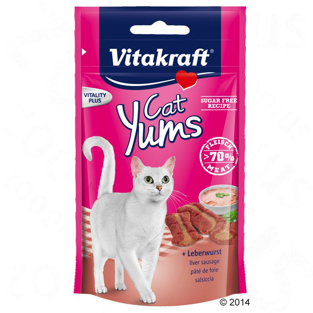 Liver Sausage Vitakraft Cat Treats