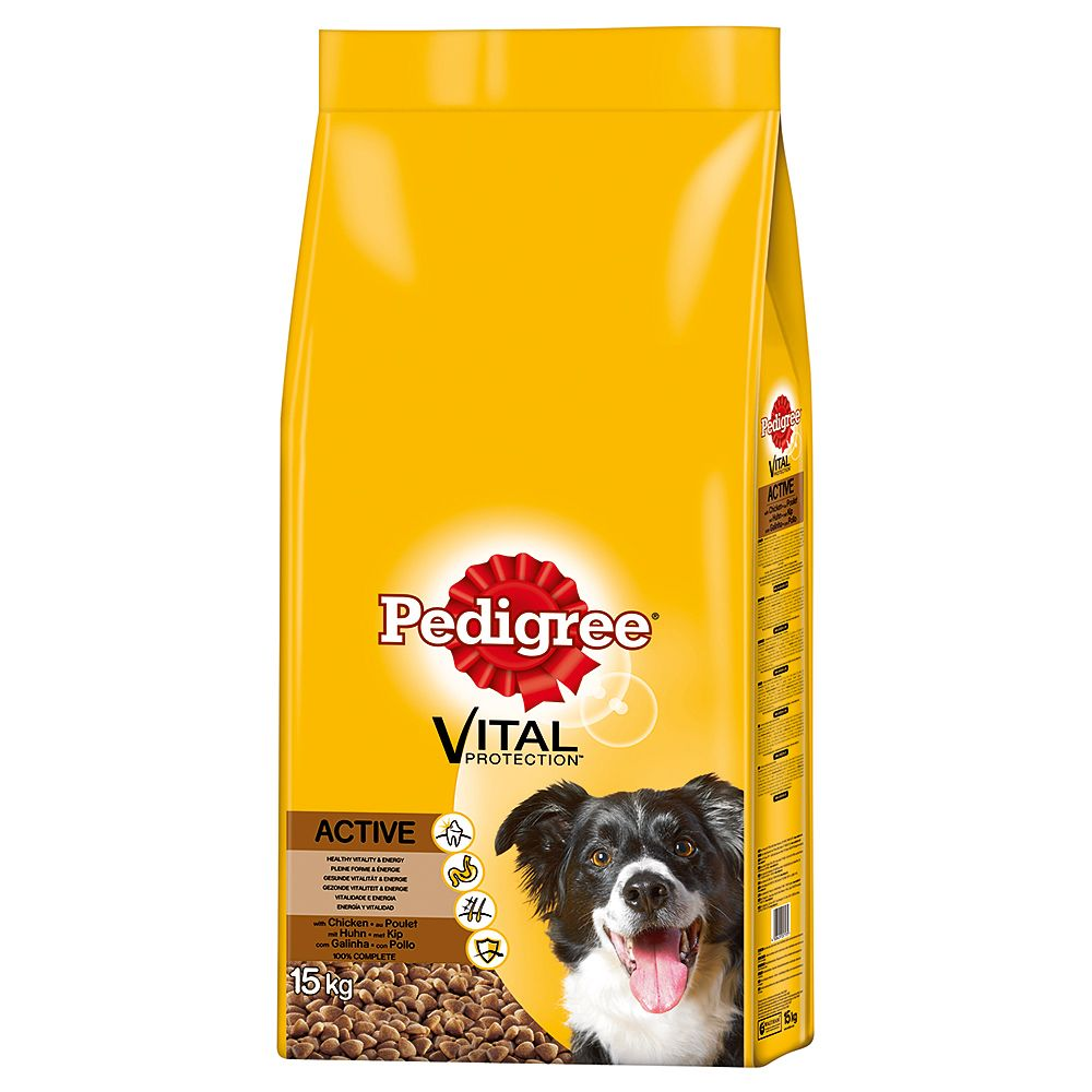 Pedigree Adult Active Complete - Vital Protection Chicken - 3kg