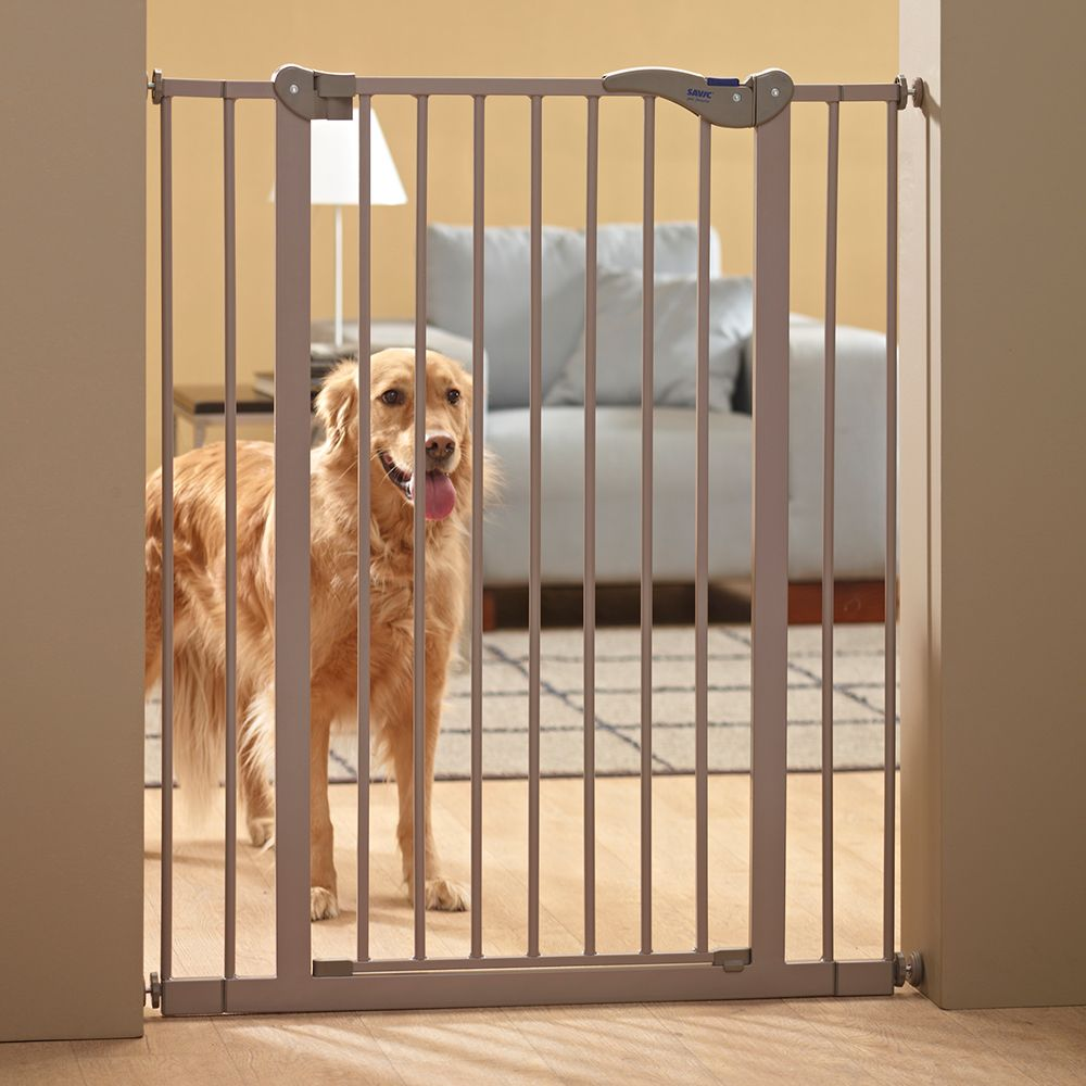 Image of Savic Absperrgitter Dog Barrier - Höhe 107 cm, 7 cm Verlängerung