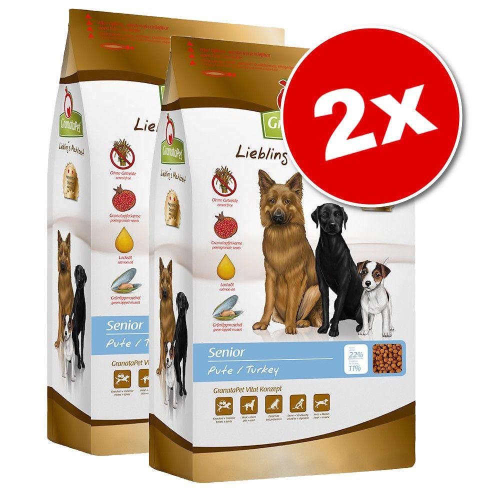 2x10kg Adult volaille GranataPet Liebling's Mahlzeit - Croquettes pour chien