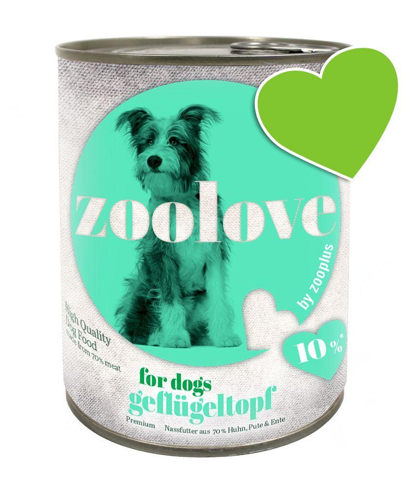 zoolove, drób, 6 x 800 g