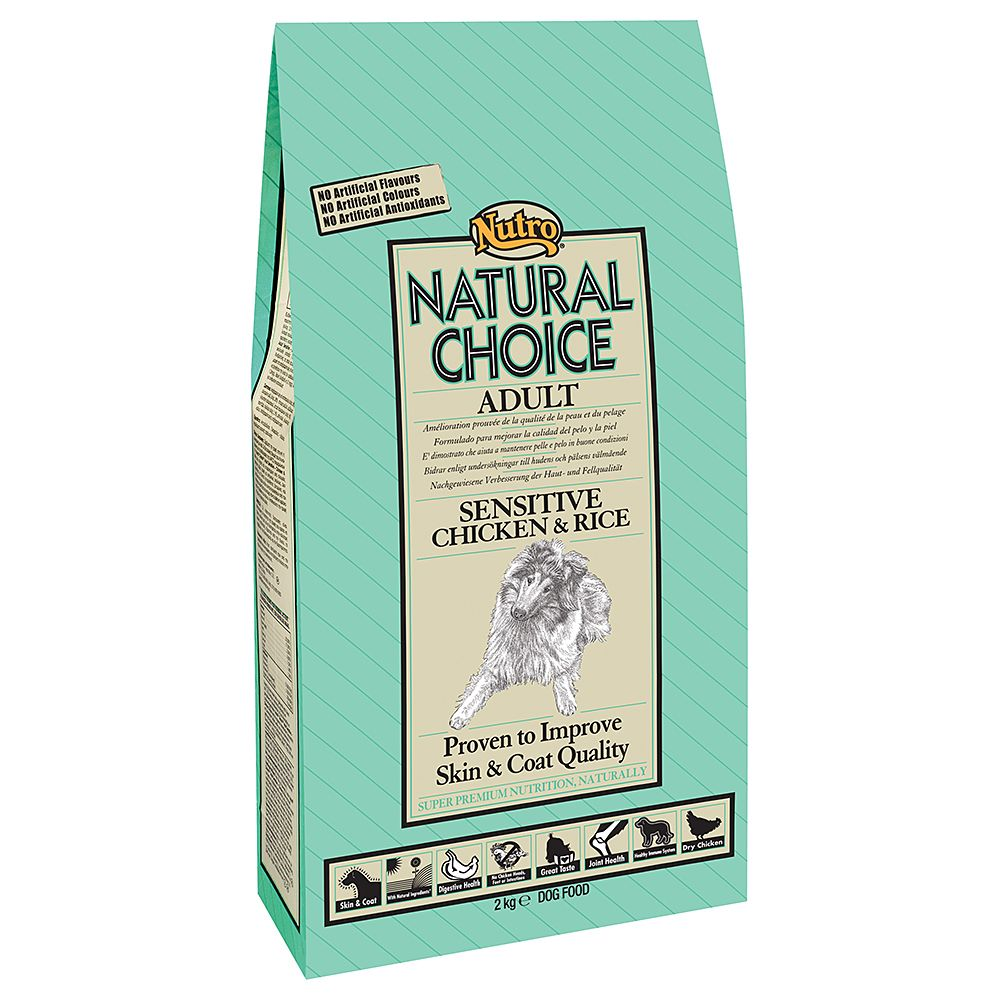 Foto Nutro Choice Adult Sensitive Pollo & Riso - 12 kg Nutro Natural Choice Nutro Adult