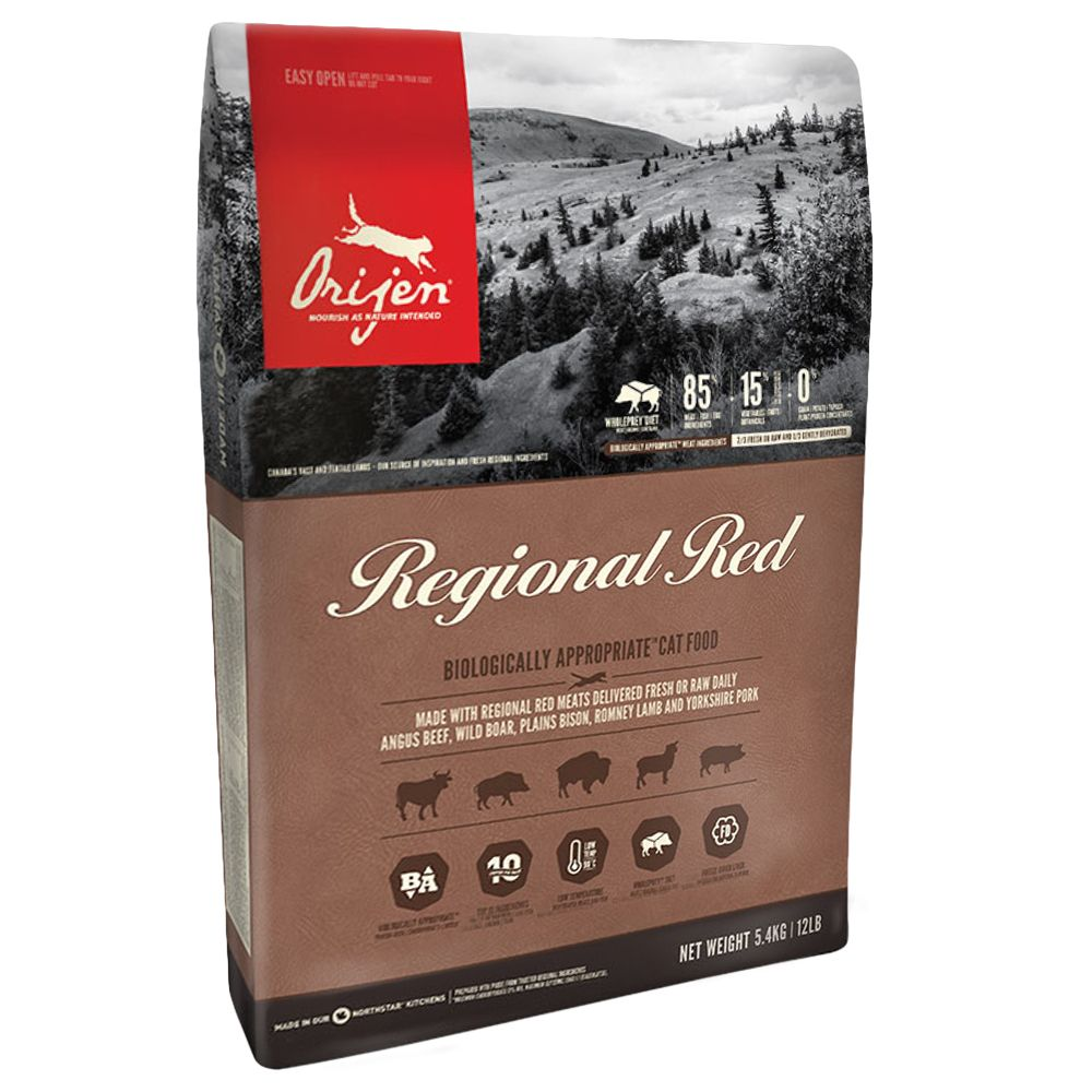 INOpets.com Anything for Pets Parents & Their Pets Orijen Regional Red Cat Dry Food - 5.4kg