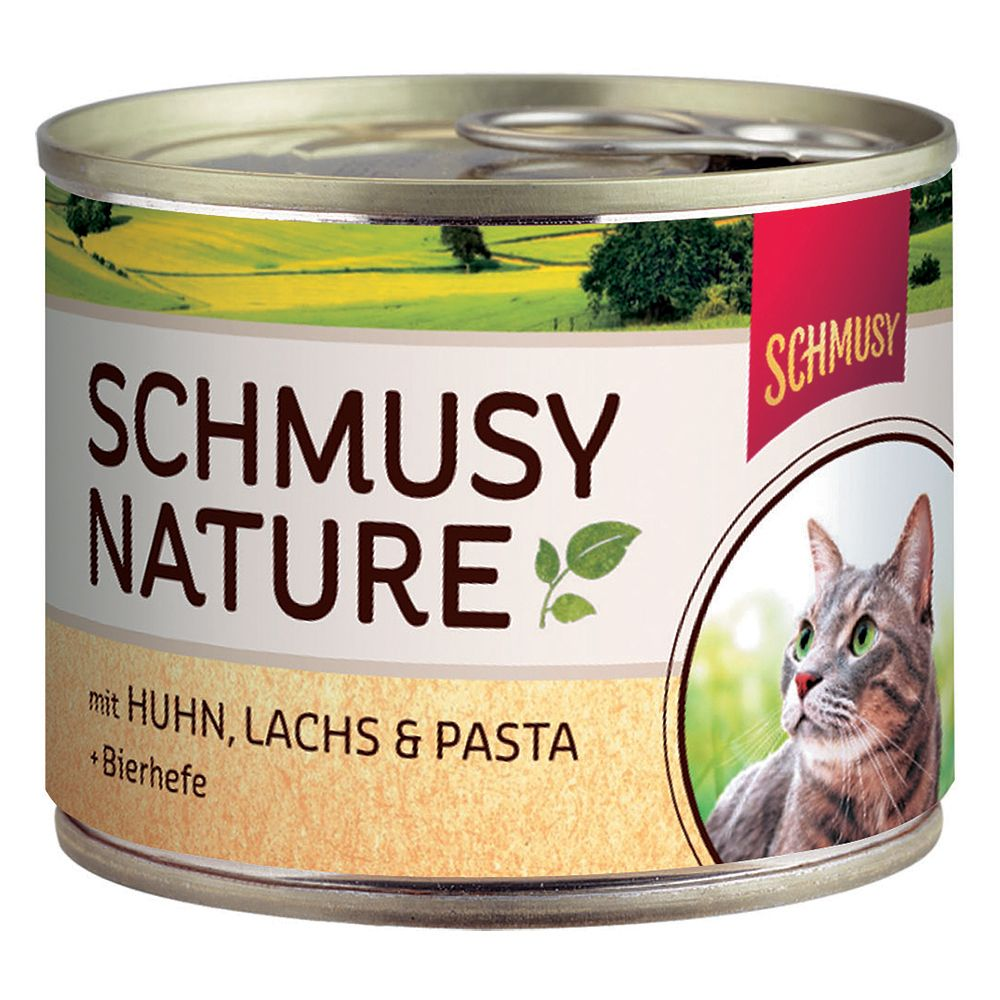 Schmusy Nature Cans 6 x 190g