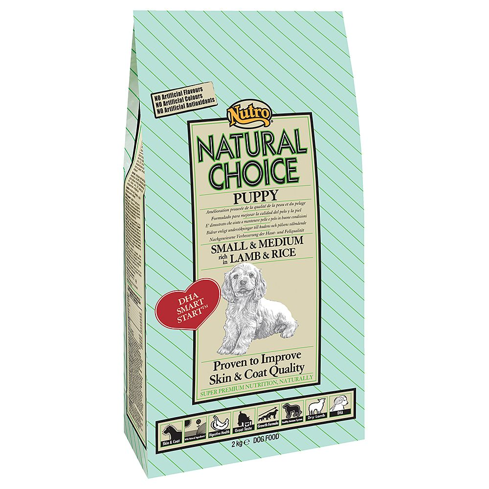 Nutro Choice Puppy Lamm & Reis - 12 kg