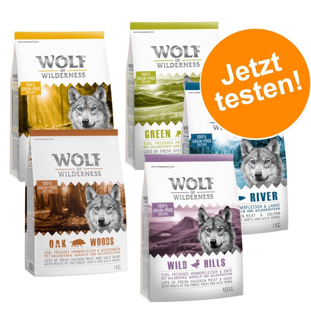 Adult - gemischtes Probierpaket - Mix, 2 Sorten: Hirsch, Wildschwein (2 x 1 kg)
