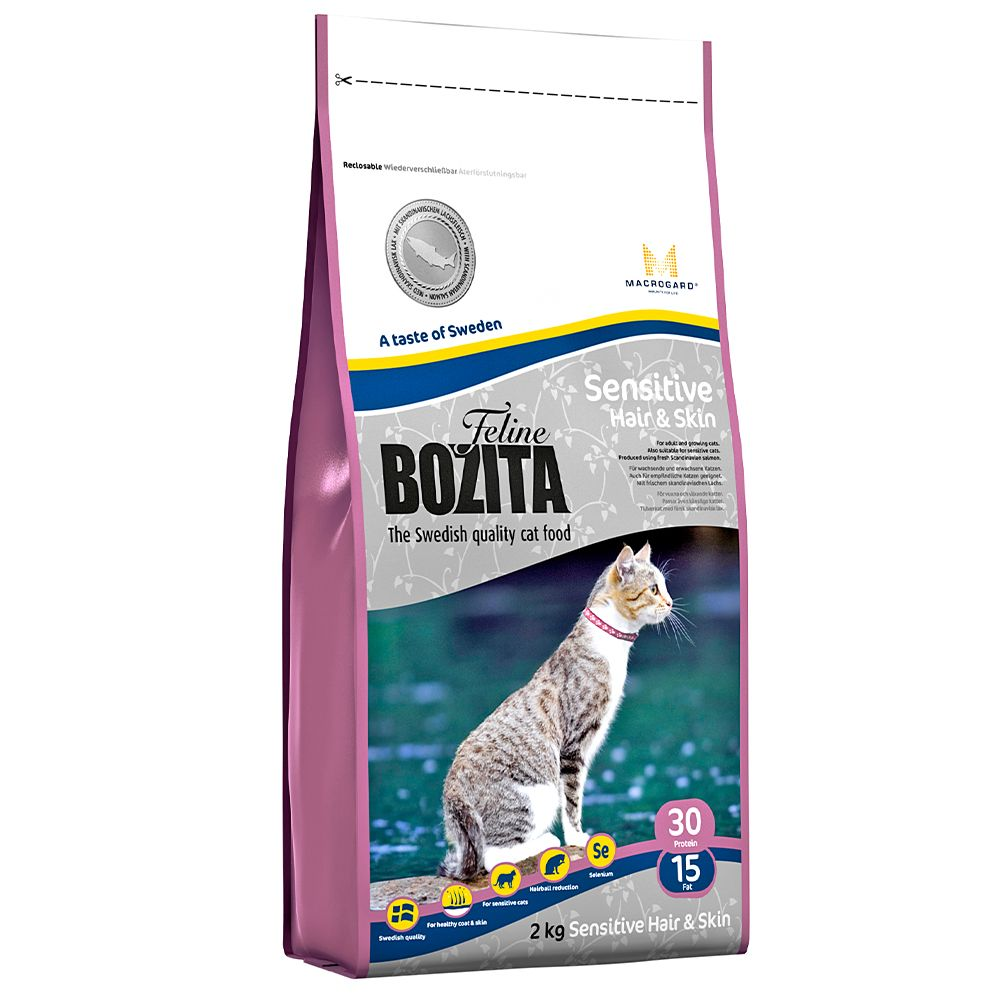 Hair & Skin Sensitive Bozita Dry Cat Food