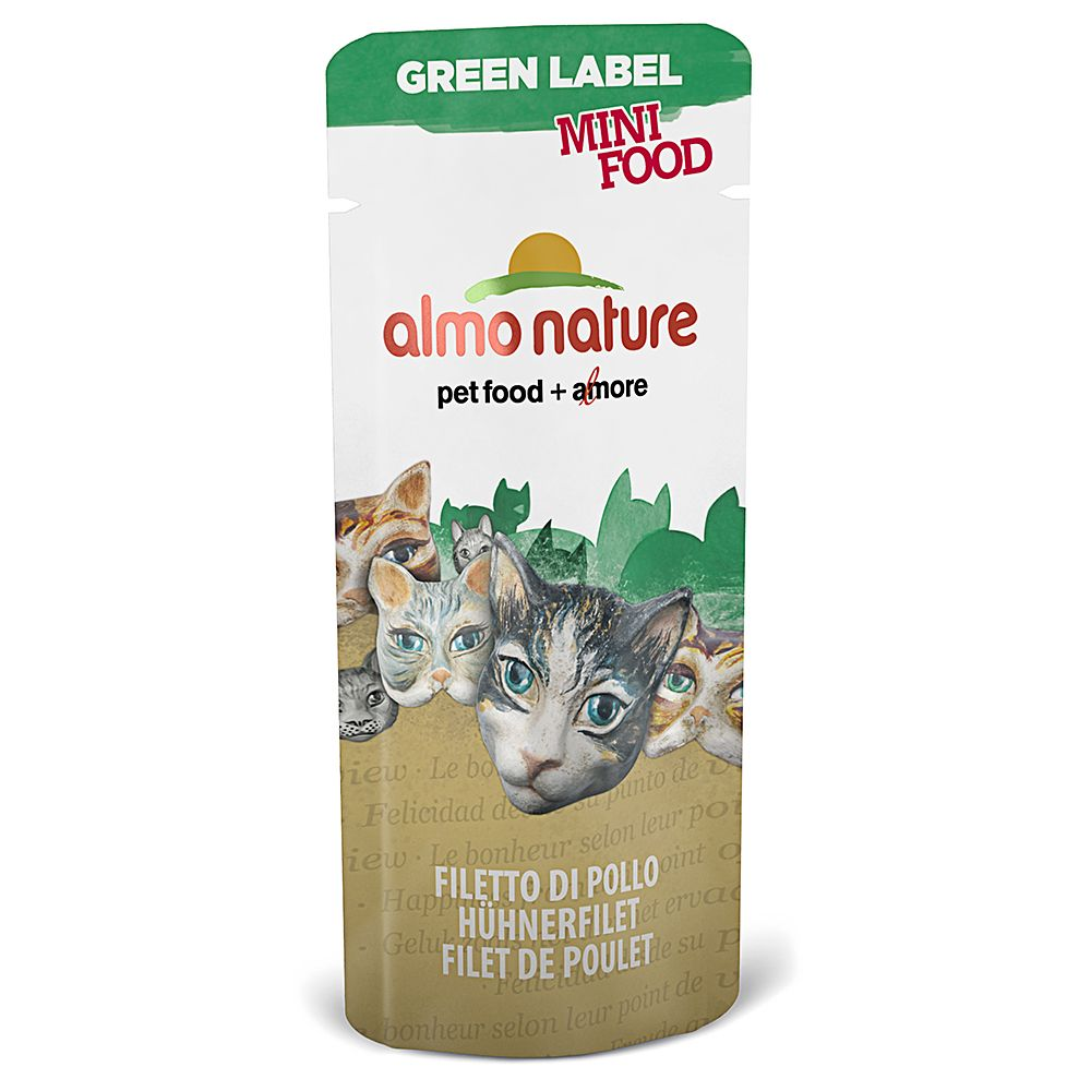 Almo Nature Green Label Mini Food - 5 x 3g - Tuna Fillet