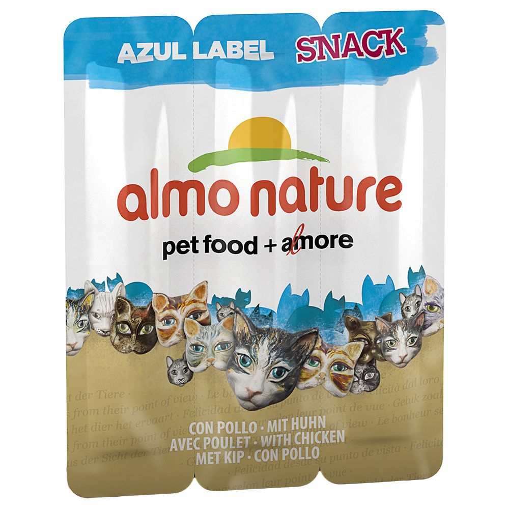 Image of Almo Nature Snack Azul Label, Thunfisch - 3 Stück je 5 g
