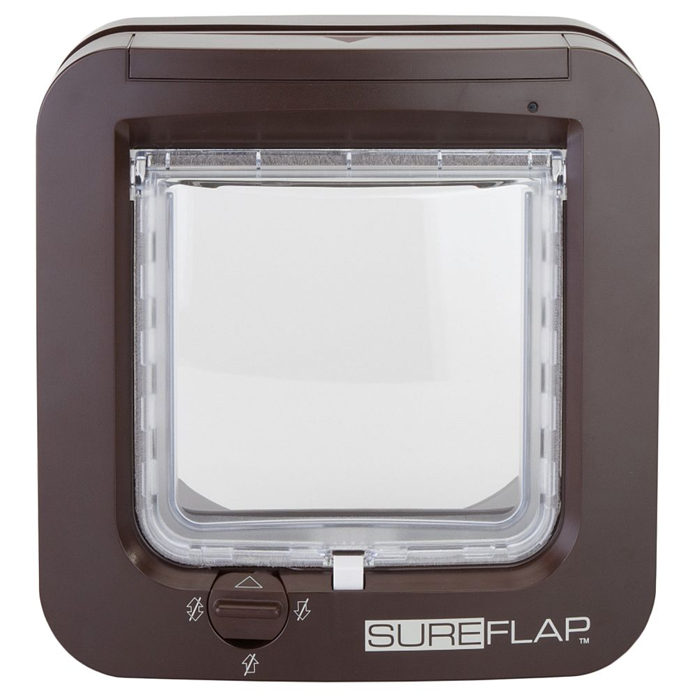Gattaiola SureFlap con Microchip Marrone 21 x 21 cm