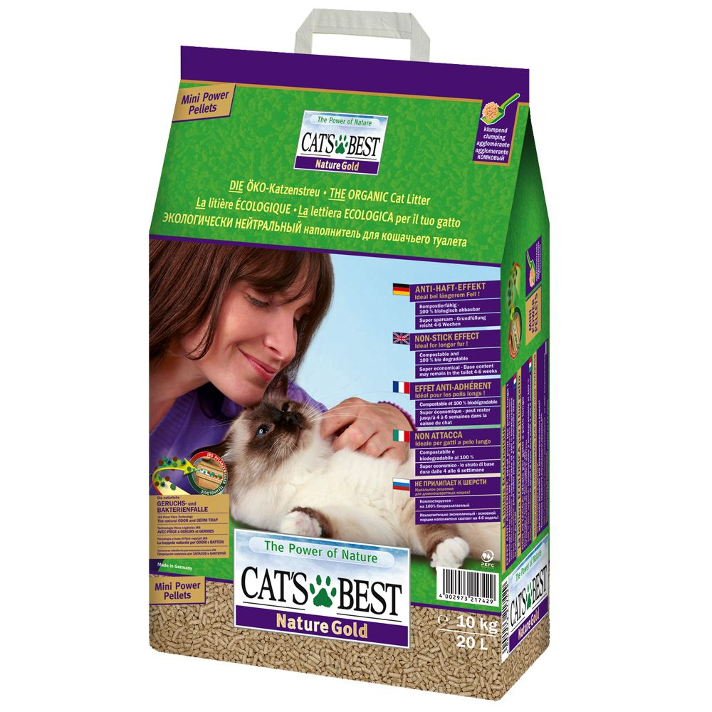Cat's Best Nature Gold - Economy Pack: 2 x 20l