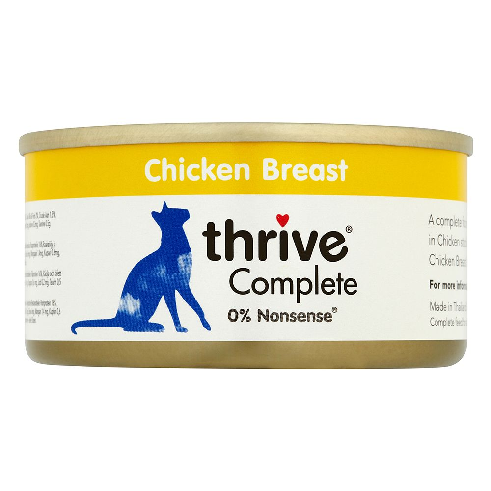 Thrive Complete 6 x 75 g - Hühnerbrust