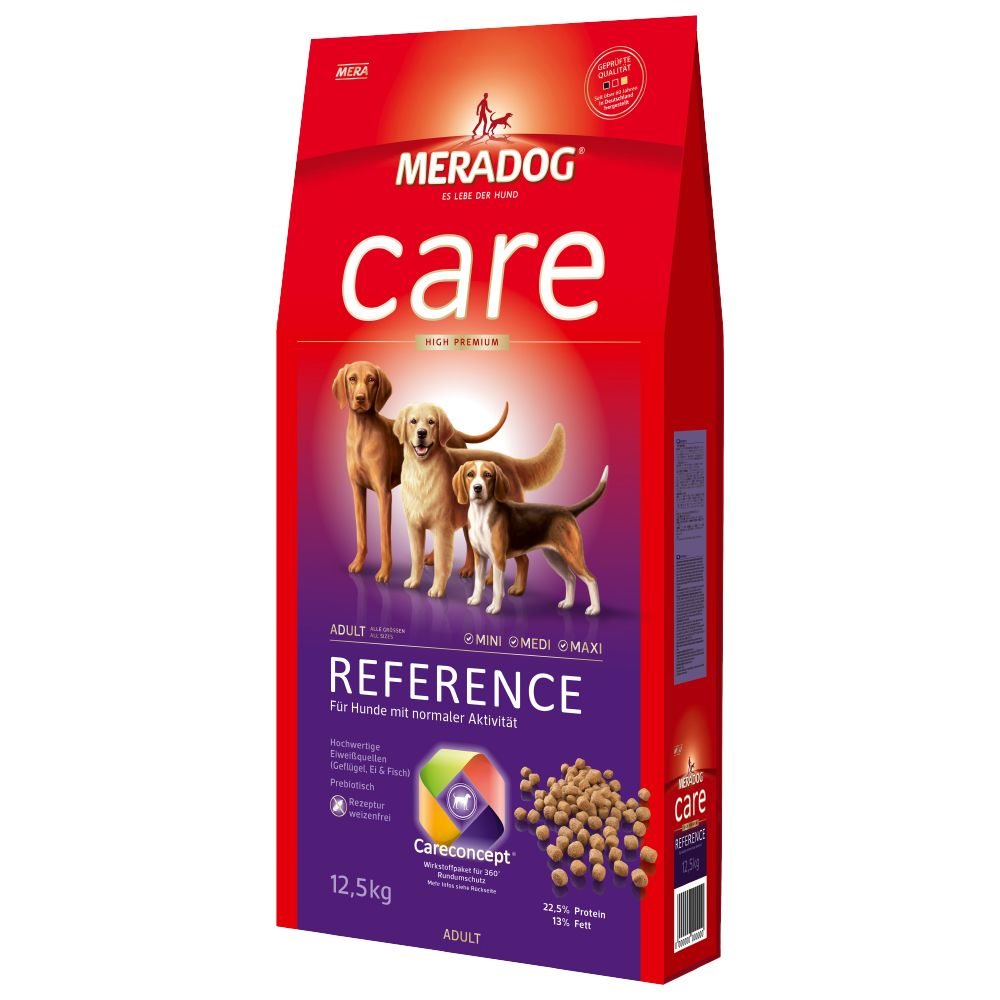MERA essential Reference is a premium dry feed made according to the dietary needs of adult dogs with normal energy levels. The high quality ingredients support he...