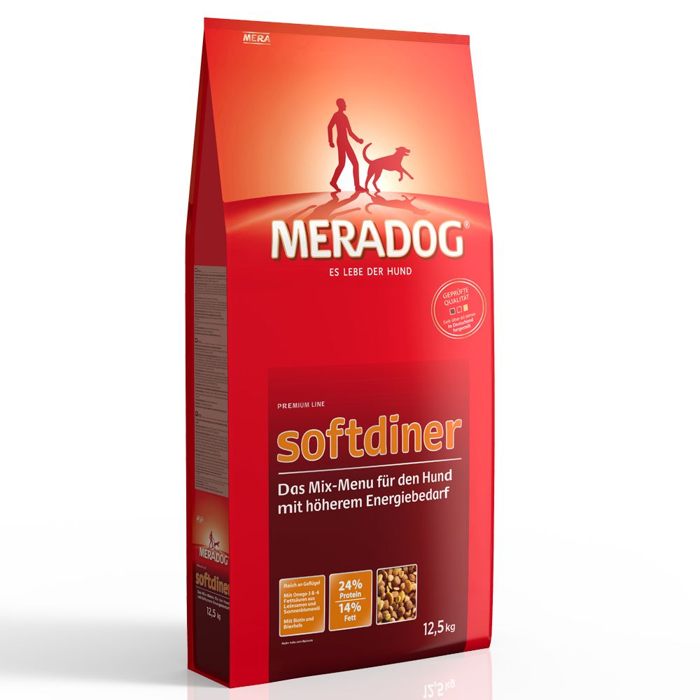 Mera Dog Soft Diner - Economy Pack: 2 x 12.5kg