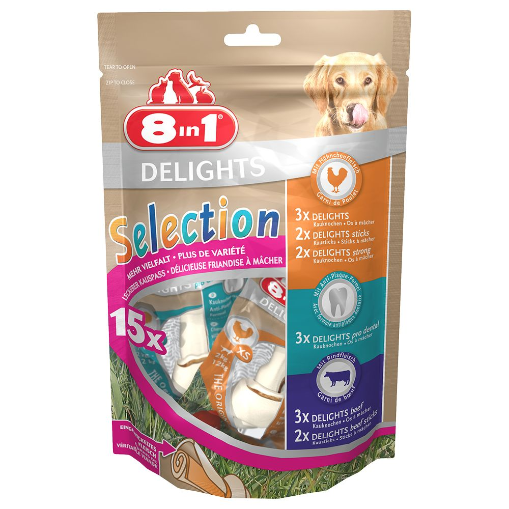 Variety Pack 8in1 Delights Dog Treats