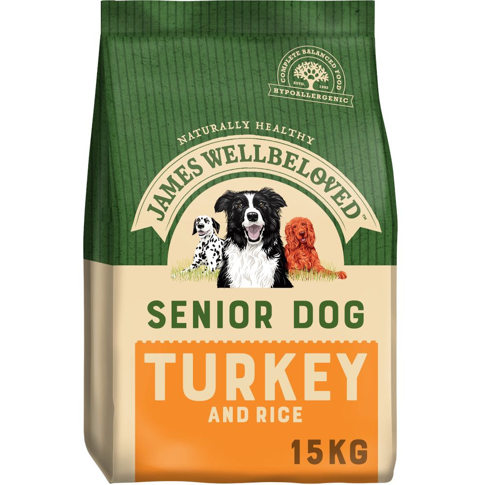 James Wellbeloved Senior - Turkey & Rice - 15kg