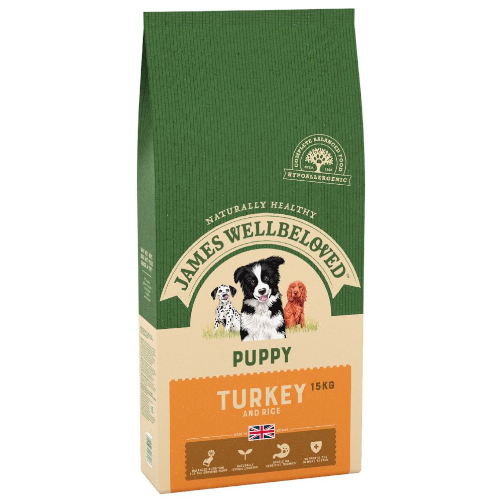 James Wellbeloved Puppy Turkey & Rice Dry Dog Food