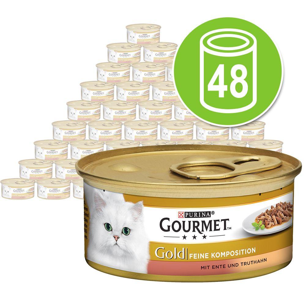 Sparpaket Gourmet Gold Feine Komposition 48 x 8...