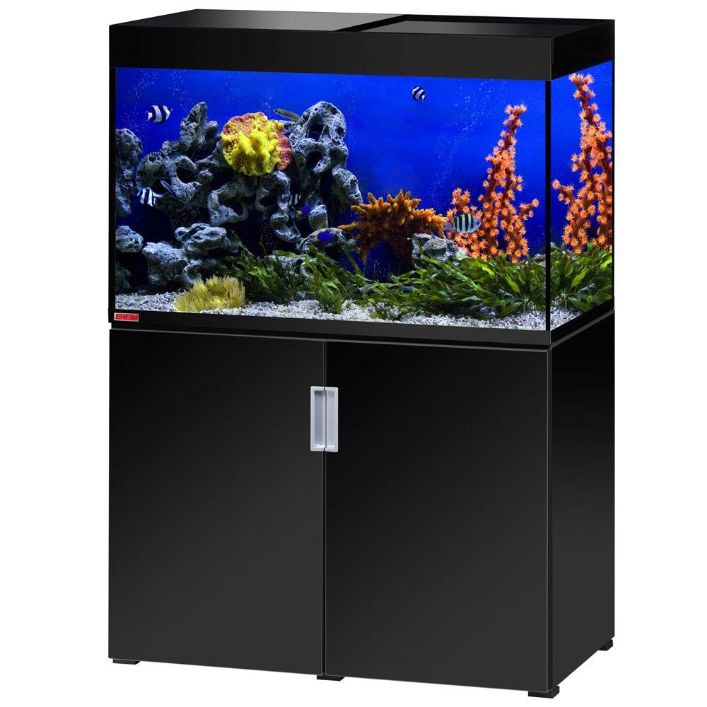 Image of Set acquario + supporto EHEIM incpiria 300 marine - nero laccato