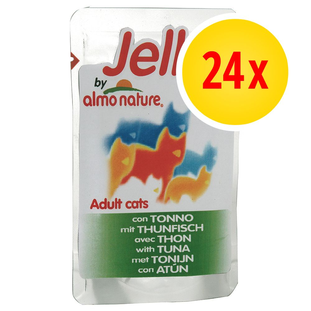 Image of 24 x 70 g Almo Nature Jelly - Huhn