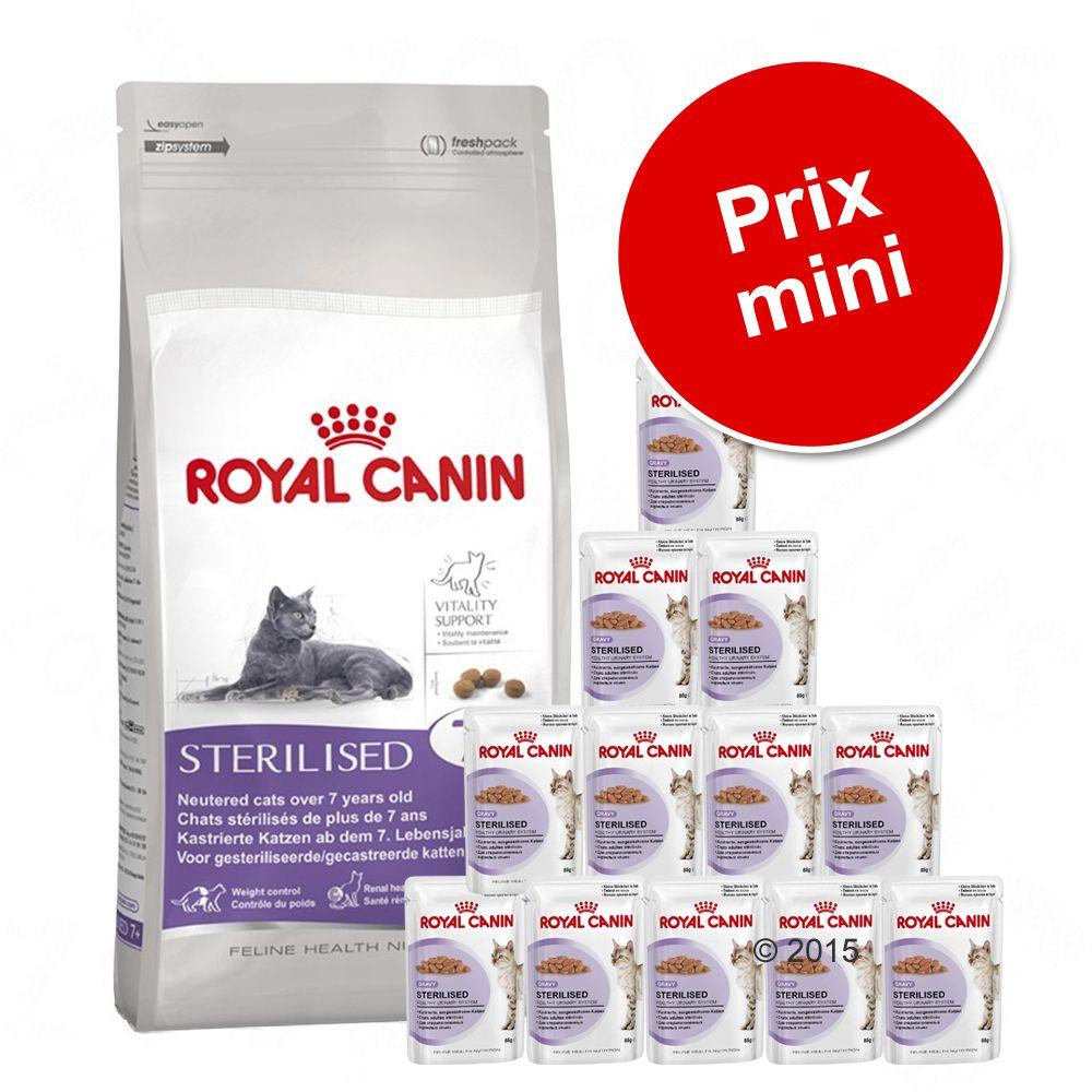 Chat Croquettes Royal Canin Chats stérilisés