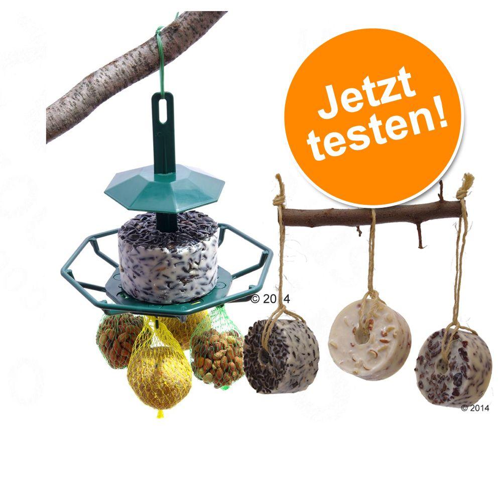 Mixed Feeder + Nachfüllpack Futterringe zum Son...