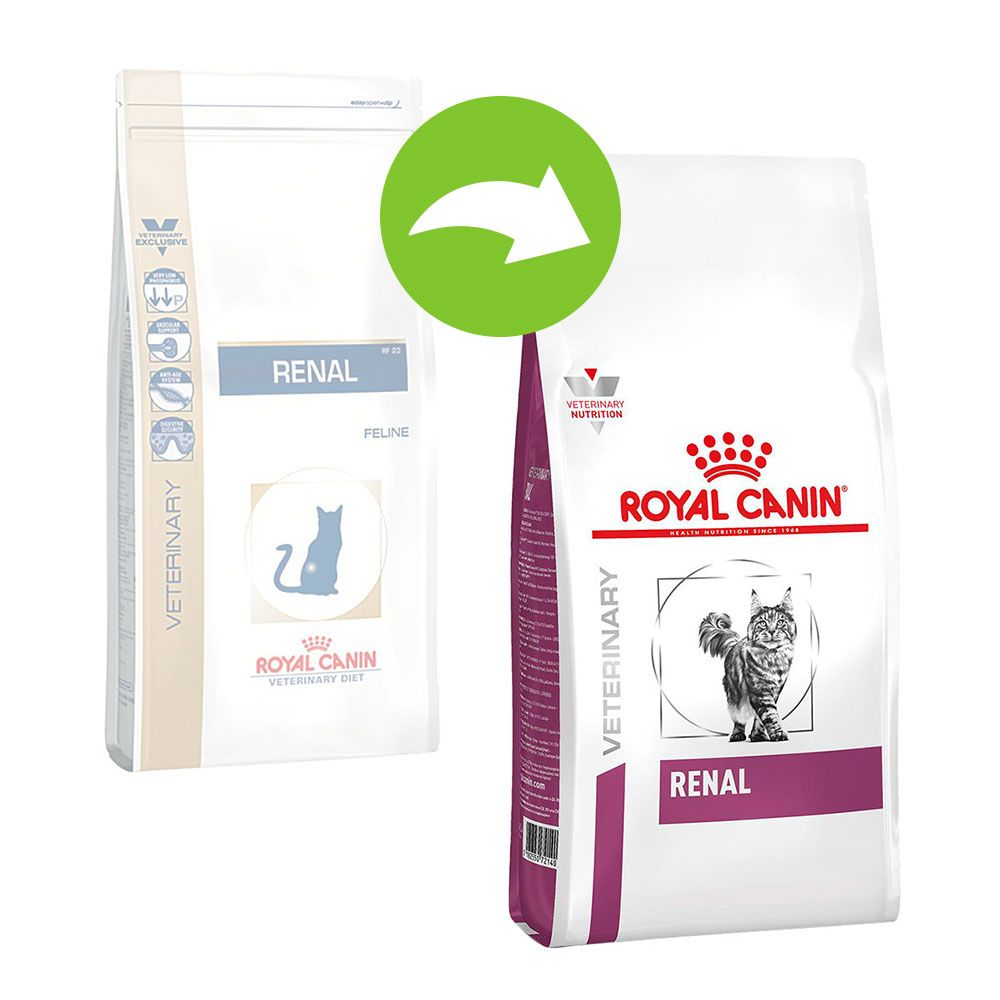 Royal Canin Veterinary Diet Feline Renal - Ekonomipack: 2 x 4 kg