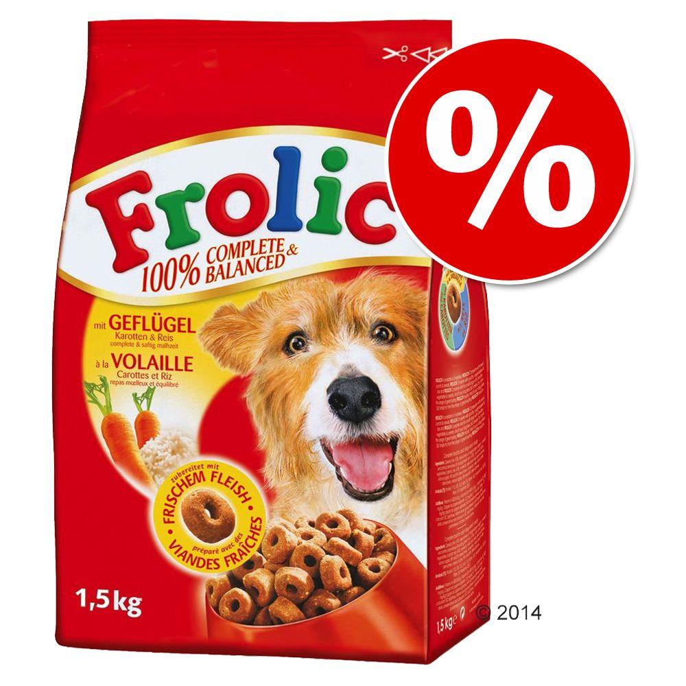1,5 kg + 200 g gratis! 1,7 kg Frolic Complete - Geflügel, Gemüse & Reis