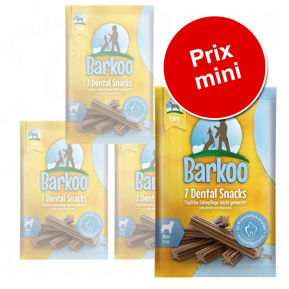 Chien Friandises Soin dentaire Friandises Barkoo pour chien