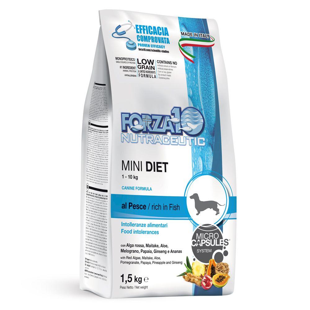 Ekonomipack: 2 / 3 påsar Forza 10 hundfoder till lågpris! - Medium Diet med fisk (2 x 12 kg)