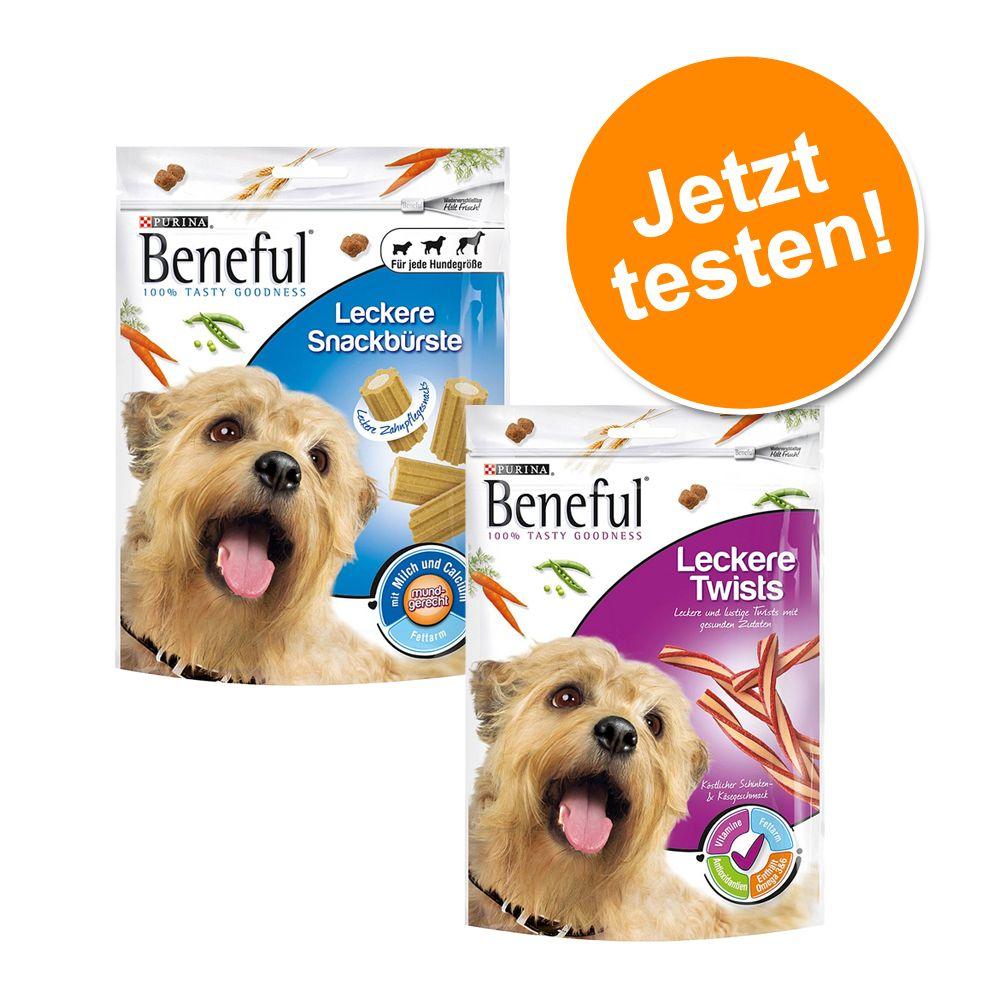Mixpaket: 2 x Beneful Snacks zum Probierpreis -...