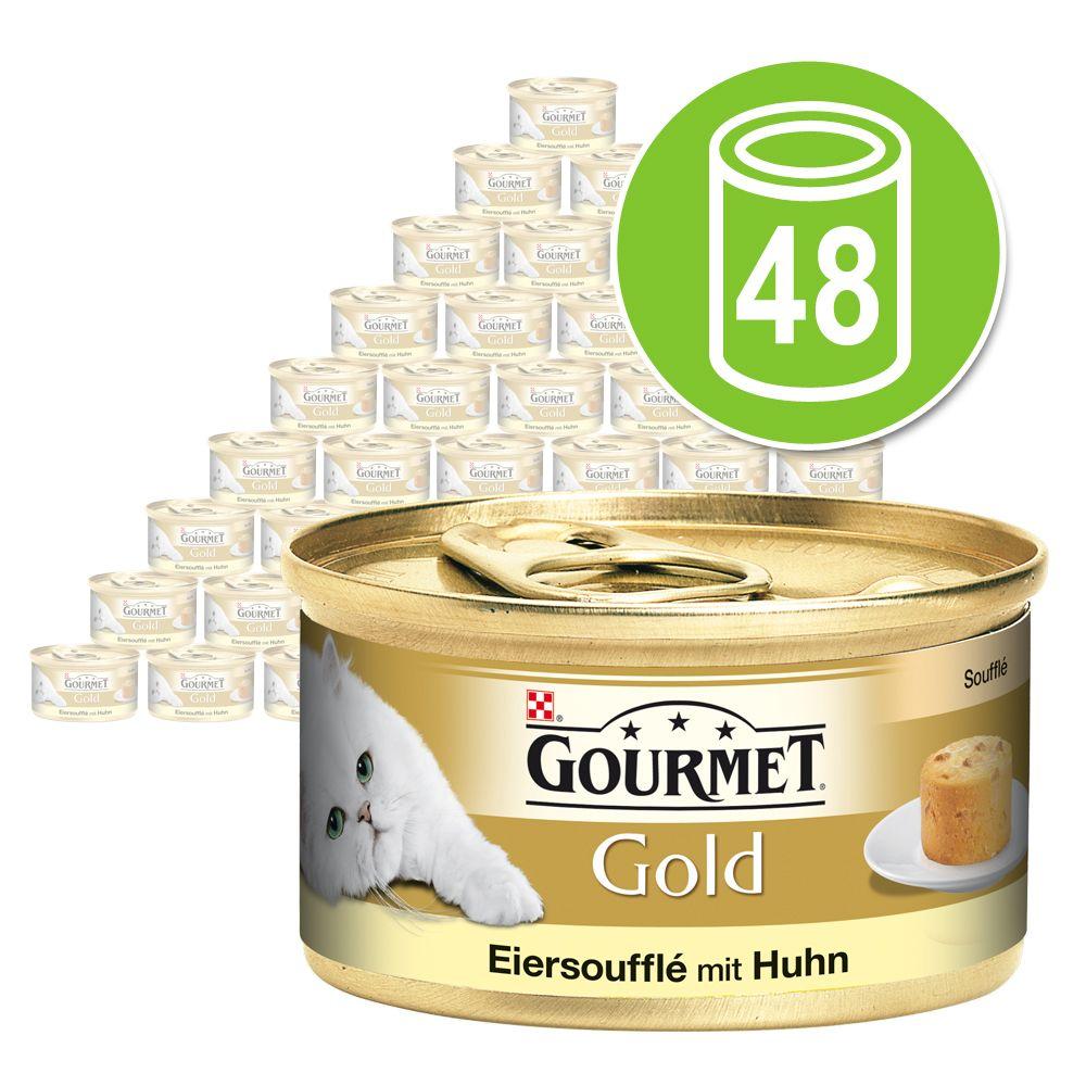 Ekonomipack: Gourmet Gold Soufflé 48 x 85 g - Kyckling