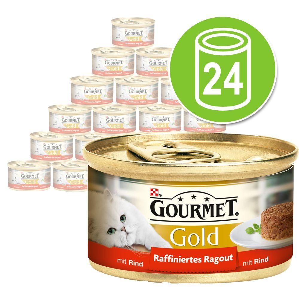 Chat Boîtes et sachets Gourmet Gold Gourmet Gold Recettes raffinées
