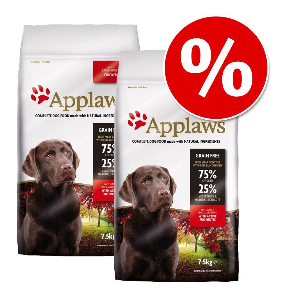 Doppelpack Applaws 2 x 7,5 kg / 15 kg - Adult H...
