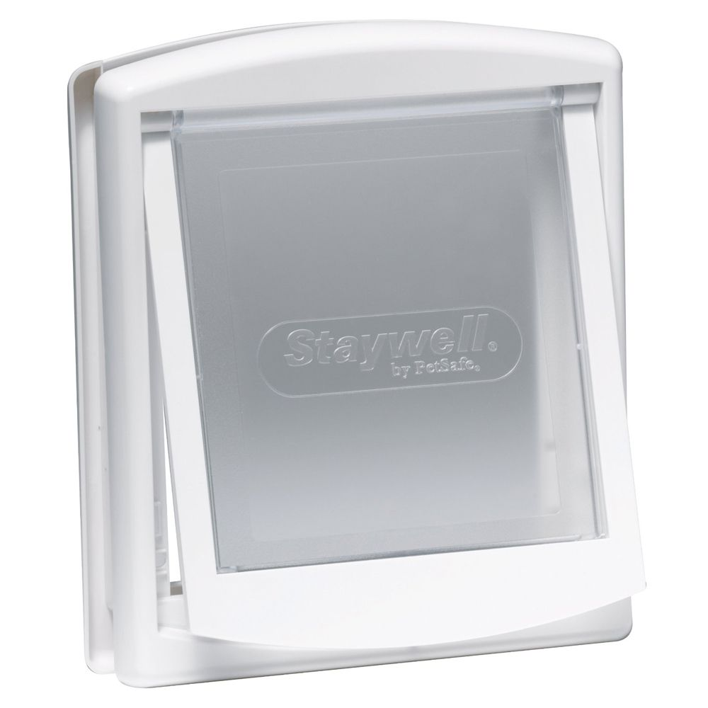 PetSafe Staywell Original Pet Door 715 - 2 Way Lock - White (715)